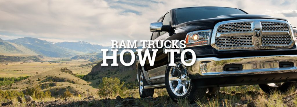 ram trucks how to advices and suggestions