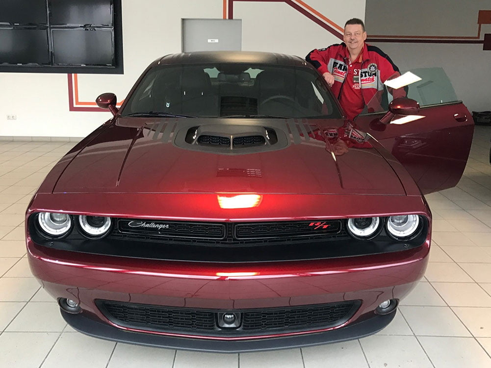 Dodge Challenger first prize sport auto award