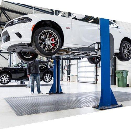 Dodge vehicle scheduled maintenance