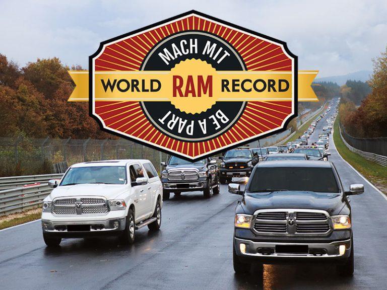 ram trucks guinness world record nürburgring 2016