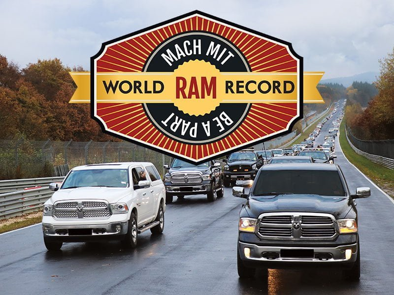 You are currently viewing Ram World Record 2016