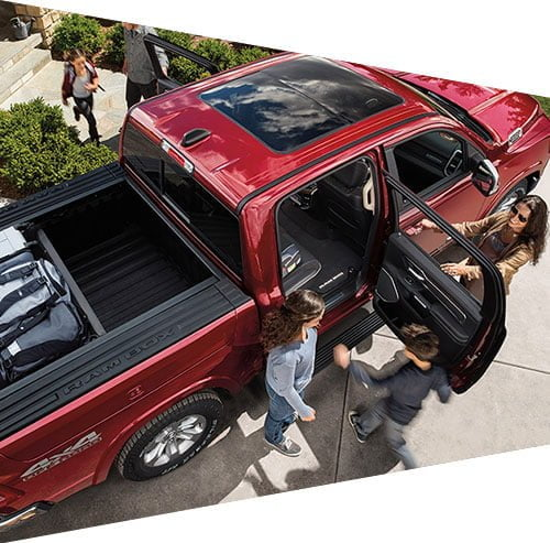 Family holidays with RAM Trucks 1500