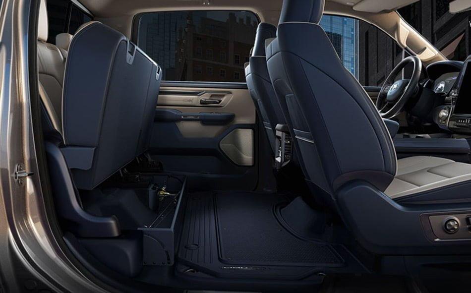 RAM 1500 Under Seat Storage