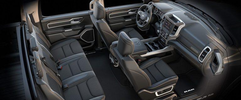 2019 Ram 1500 Interior Seats Laramie Black Bucket