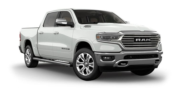 Dodge Ram 1500 Longhorn white