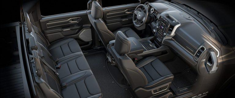 2019 Ram 1500 Interior Seats Limited Natura plus black