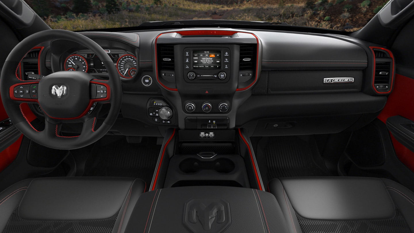 center console dodge ram rebel