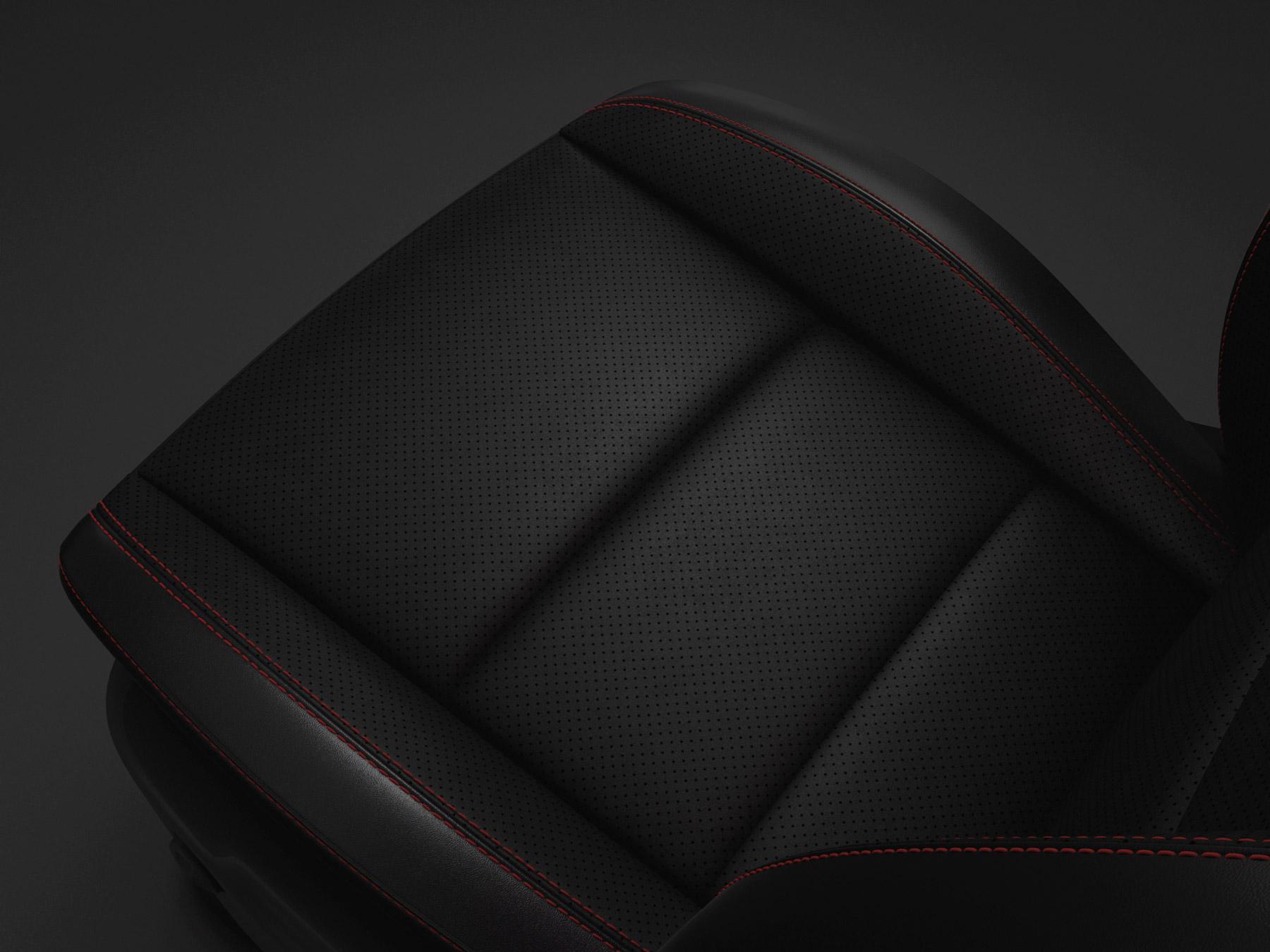 capri leather seat