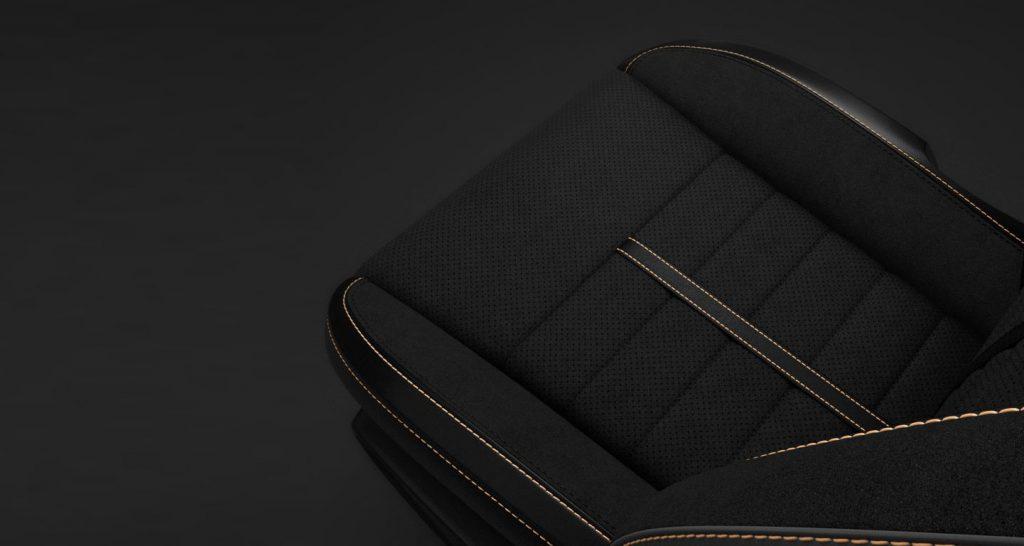 nappa leather seats alcantara dodge srt hellcat