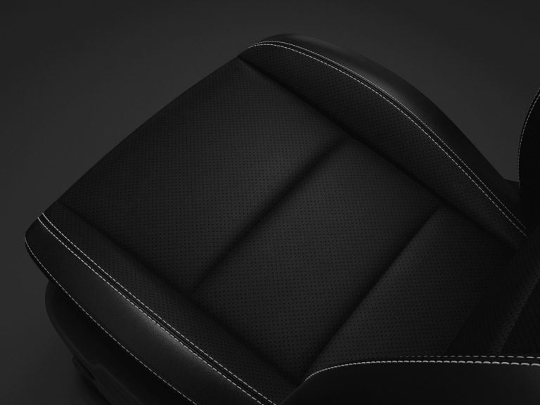 black leather performance seats Dodge