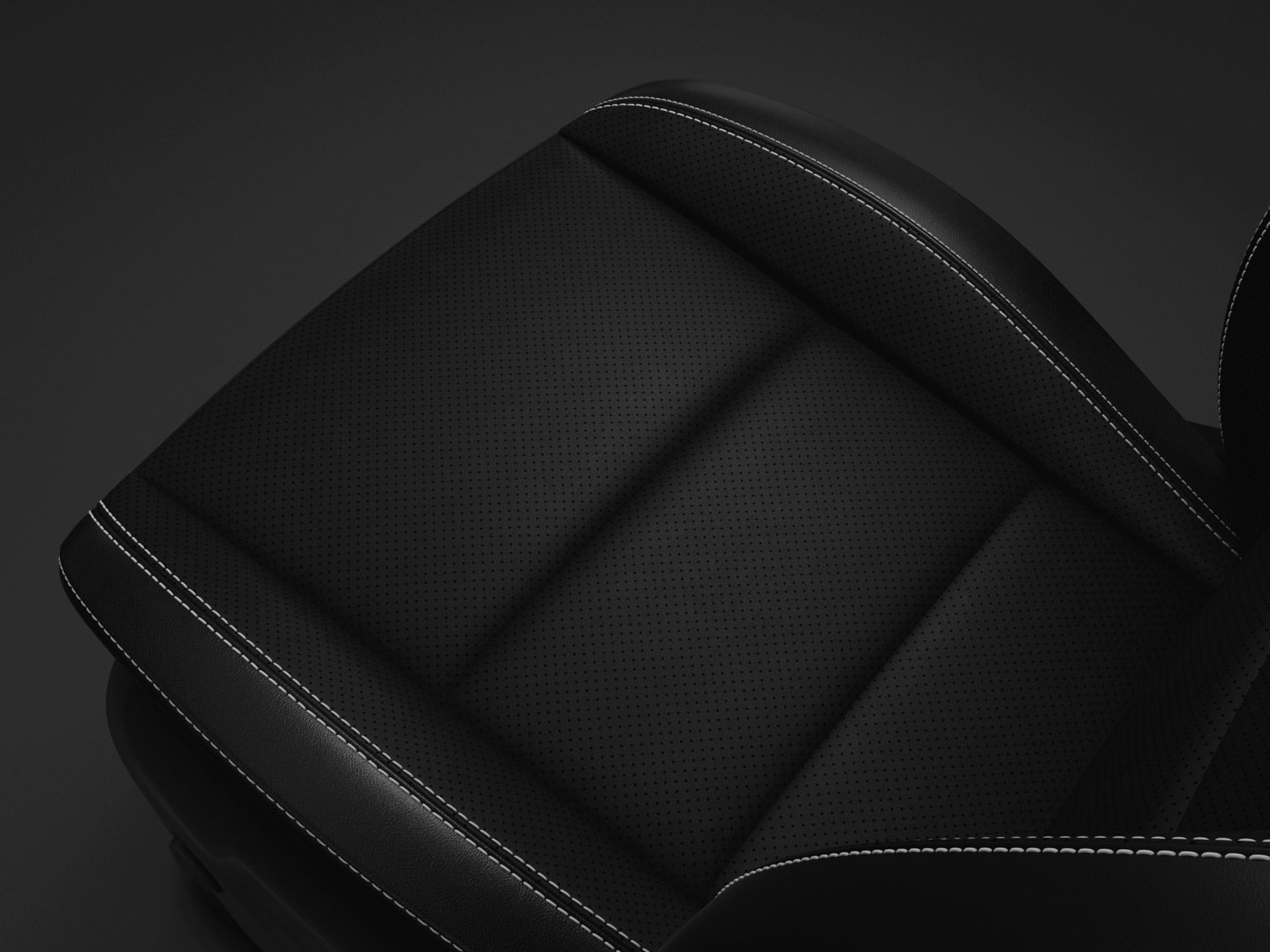 black leather performance seats Dodge