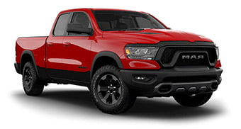 2019 dodge ram 1500 rebel red color