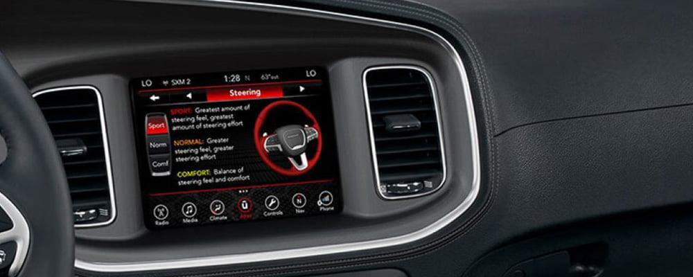 2019 Dodge Charger interior steering modes Agt Europe