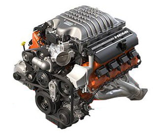dodge hellcat engine hemi v8 supercharged