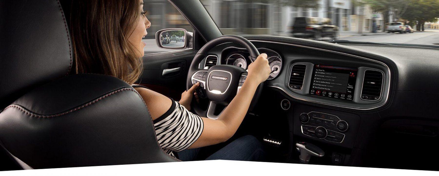 Dodge Charger radio display