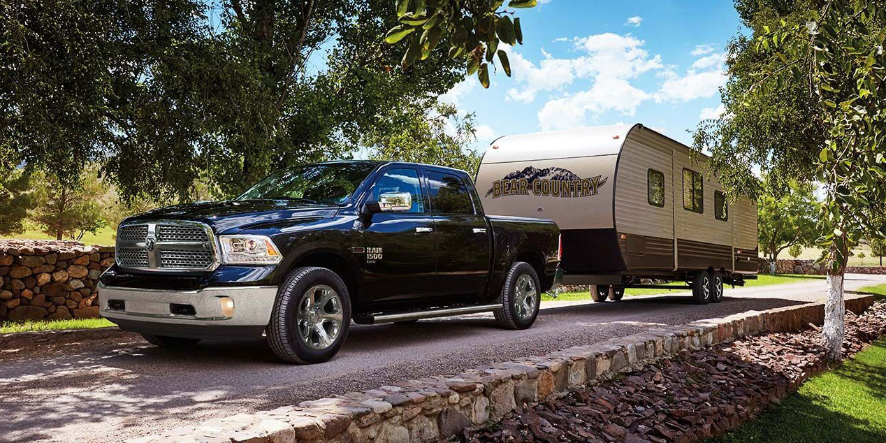 ram 1500 classic pulling caravan 3500kg