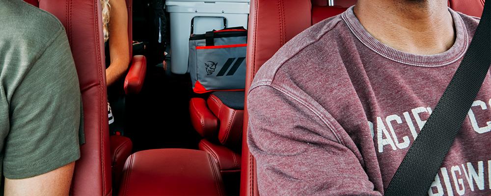 rear foldable seat
