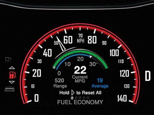 Speedometer display Dodge Durango