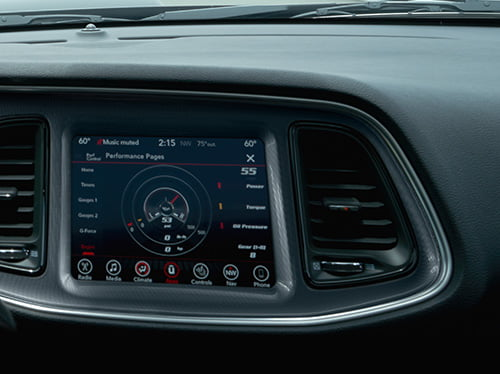 2019 dodge touch screen