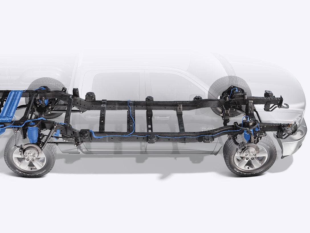 Aerodynamic Frame steel ram 1500