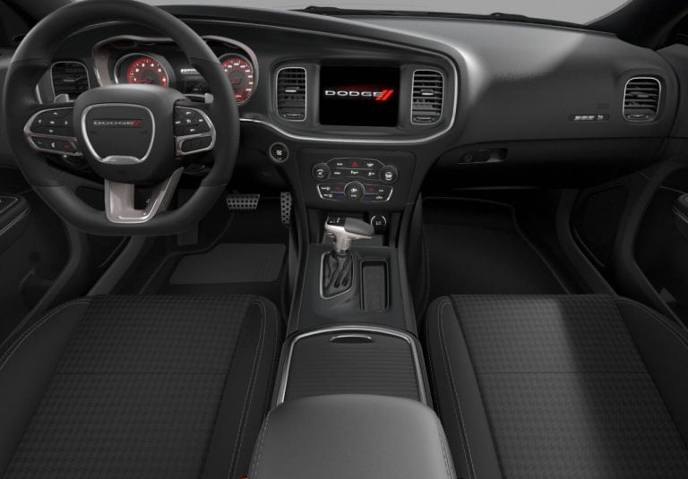 2020 Charger scat pack interior black