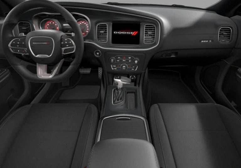 2020 Charger scat pack interior black Nappa