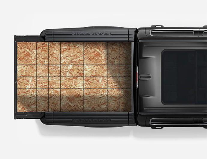 Ram 1500 DT maximum cargo bed
